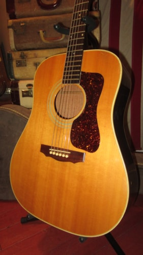 1979 Guild D-40 Dreadnought Acoustic Natural