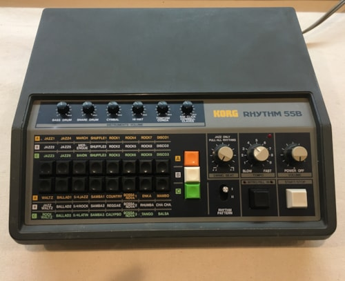 1979 Korg Rhythm 55B Drum Machine