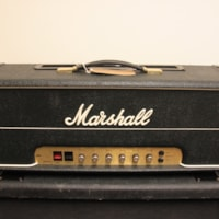 1979 Marshall JMP Lead Master Volume 100w Head Model #2203