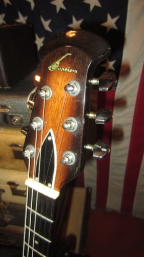 1979 Ovation Preacher Sunburst, Excellent, Original Hard, $999.00