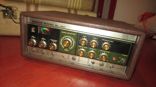 1979 Roland Space Echo RE-201 Black and Green