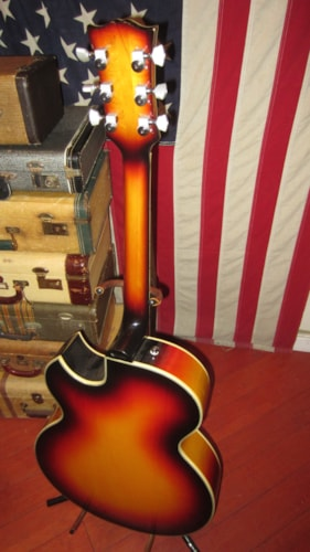 1979 Univox ES-175 Copy Sunburst, Excellent, GigBag, $749.00