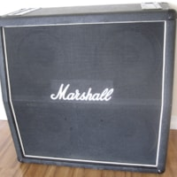 1979 VINTAGE MARSHALL 1960A 1982A 4x12 CELESTION CABINET T12