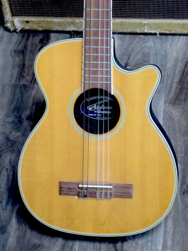 1980 Applause By Ovation KN12 Travel Guitar Excellent, GigBag