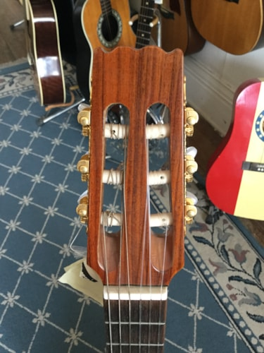 1980 Aria Pro II Classical/Electric Guitar Natural Rosewood, Excellent