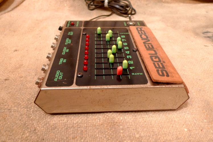 1980 Electro Harmonix 8 Step Sequencer Very Good, $550.00