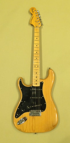 1980 Fender® Left Handed Stratocaster® Natural, Very Good, Original Hard
