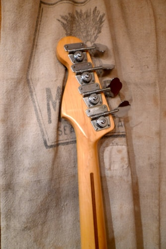 1980 Fender® Precision Bass® Red, Very Good, Hard, $1,950.00