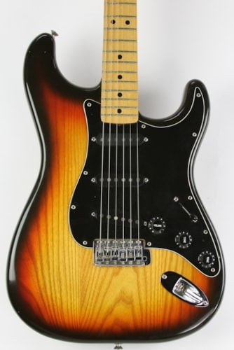 1980 Fender® Stratocaster® Sunburst, Excellent, Original Hard, $1,899.00