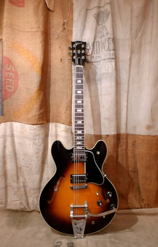1980 Gibson ES-335 Sunburst, Excellent, Hard, $3,750.00