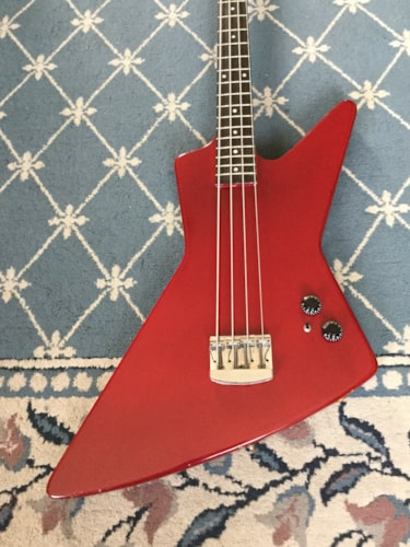 1980 Gibson Rare Prototype Explorer Bass Red, Excellent