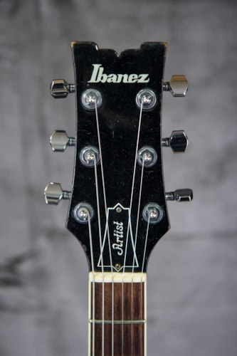1980 Ibanez Artist AM-50 Tobaccco, Very Good, Hard, $999.00