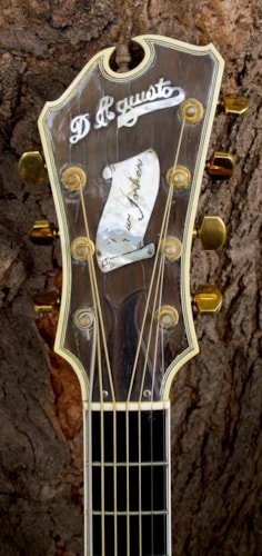 1980 Jimmy D'Aquisto New Yorker Deluxe 7-String Natural, Excellent, Hard