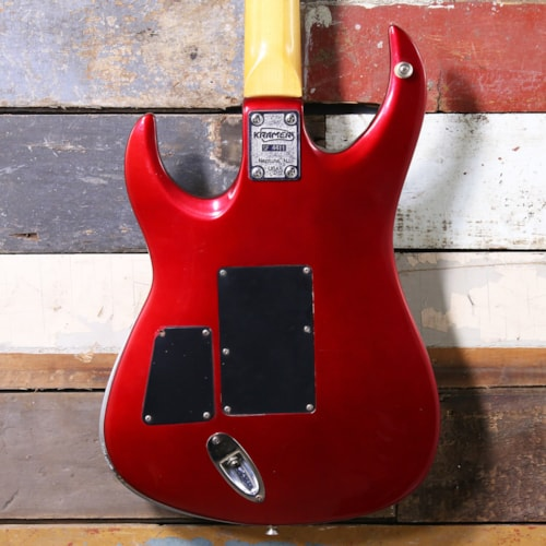 1980's Kramer American Showster Metalist Candy Apple Red