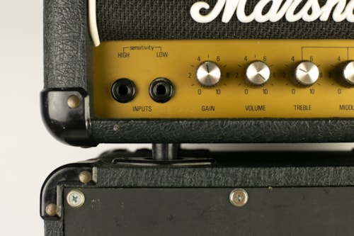 1980 Marshall Lead 12 Mini Stack > Amps & Preamps   Thunder