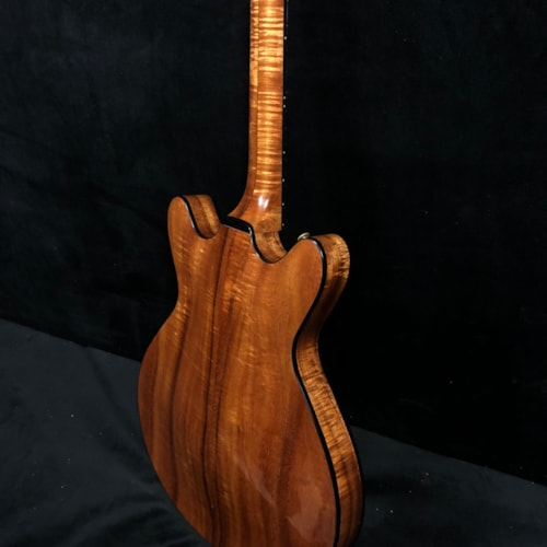 1980 Moonstone M 80 Archtop KOA Natural, Excellent, Original Hard, Call For Price!