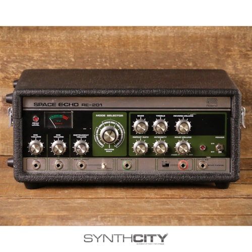 1980 Roland RE-201 Space Echo Tape Delay / Reverb (Serviced)