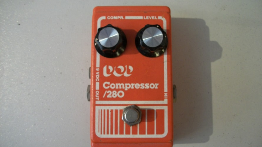 1981 DOD Compressor 180 Orange, Excellent, , $195.00