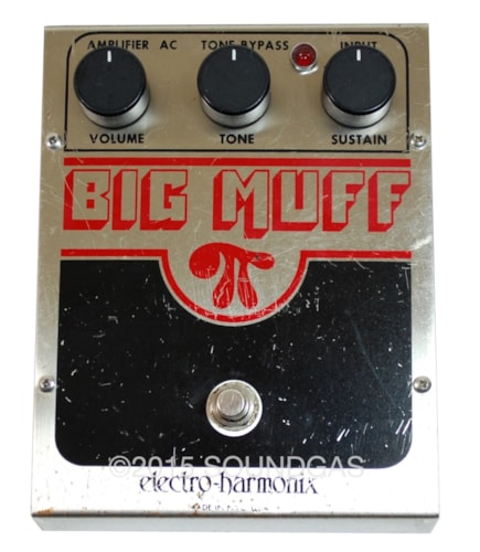 1981 Electro-Harmonix Big Muff Pi Very Good, $270.00