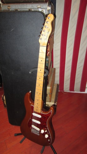 1982 Fender Bullet Made in the USA Mocha