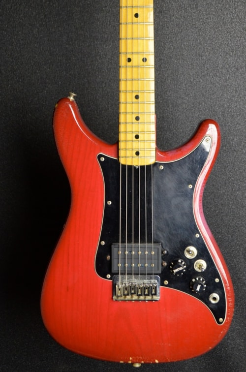 1981 Fender Lead 1 Red Gt Guitars Electric Solid Body