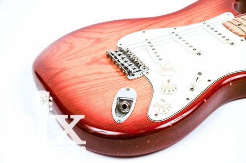 1981 Fender Stratocaster, Rare Sienna Sunburst, Great Original Condition, Large Maple Headstock