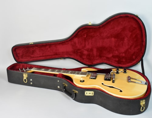 1981 Gibson ES-175 Natrural, Very Good, Original Hard