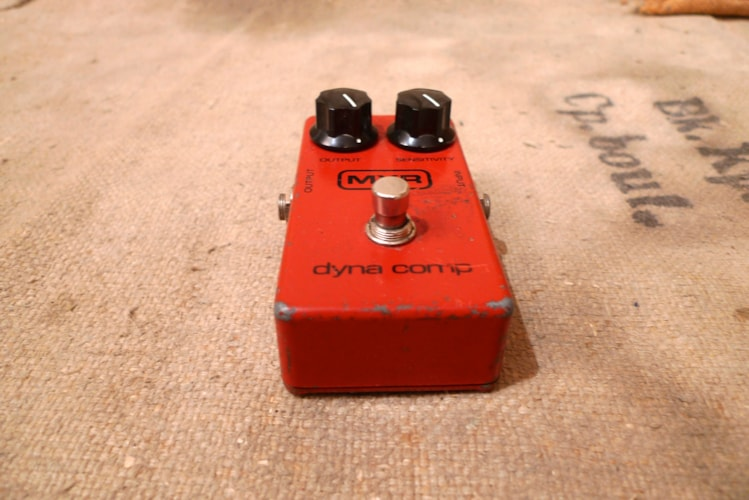 1981 MXR Dyna Comp Red, Very Good, $175.00