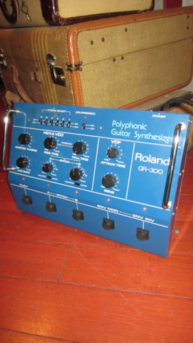 1981 Roland GR-300 Guitar Synthesizer Blue
