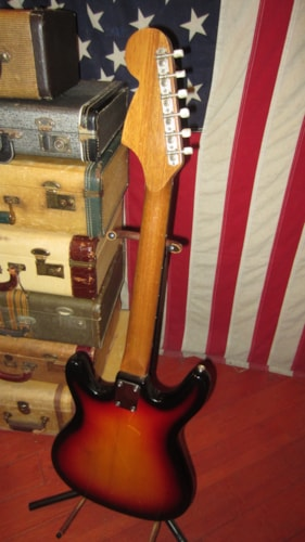 1981 Vox Elecrtic Solidbody Sunbrst, Very Good, $199.00