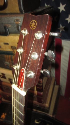 1981 Yamaha FG-200 Acoustic Natural, Excellent, Original Soft, $499.00