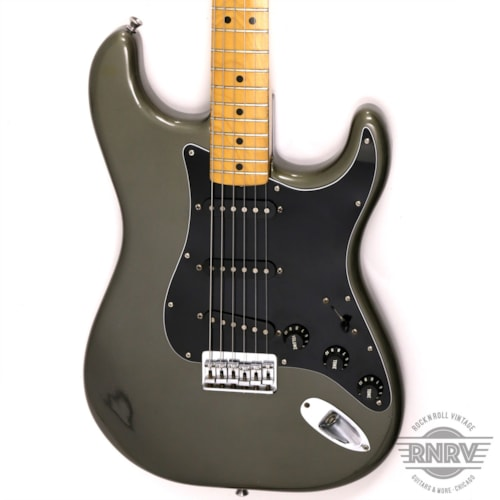 1982 Fender 1982 Stratocaster Pewter Dan Smith Hardtail Excellent, $1,895.00