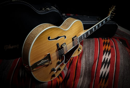 """1982 Gibson L-5 CES """"Blonde"""""""