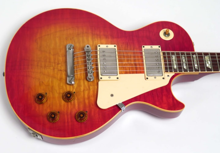 1982 Gibson Les Paul (1959 Reissue) Cherry Sunburst, Excellent, Original Hard