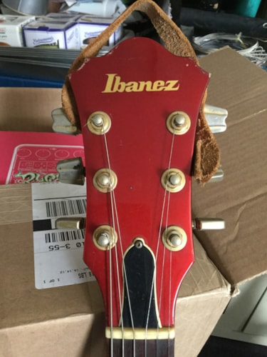 1982 Ibanez MC150 Electric Guitar Metallic Red, Very Good, Hard