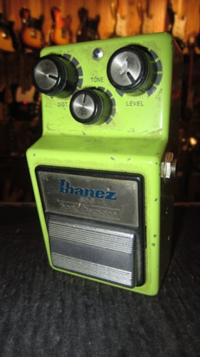 1982 Ibanez Sonic Distortion SD-9 Green, Excellent, $195.00