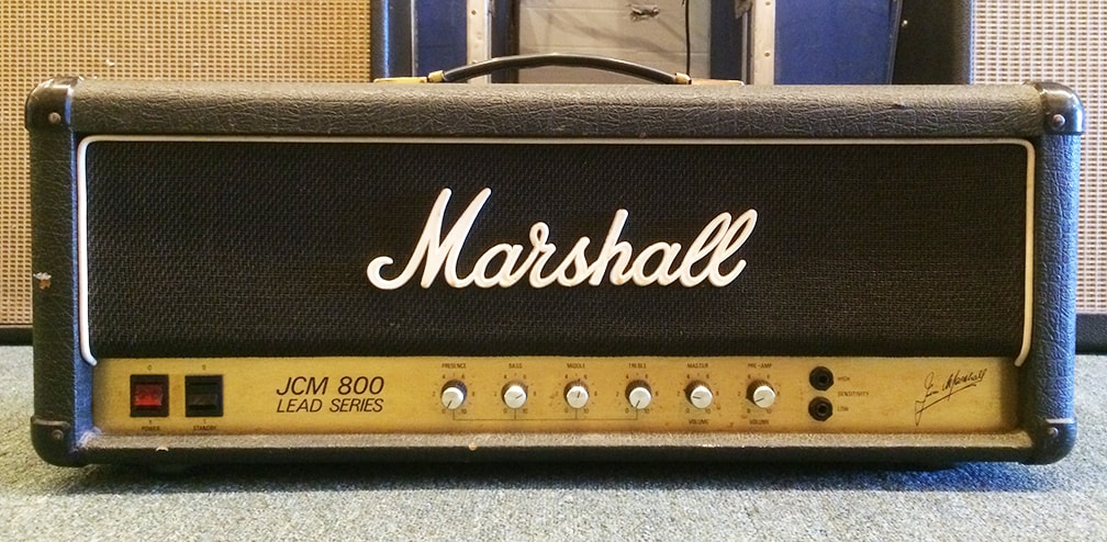 1982 Marshall JCM800-2203 Black, Very Good, $1,375.00
