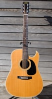 "1982 ""Martin"" Sigma dreadnaught cut away"