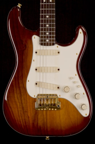 1983 Fender® Walnut Elite Stratocaster® Walnut, Very Good, Original Hard, $1,395.00