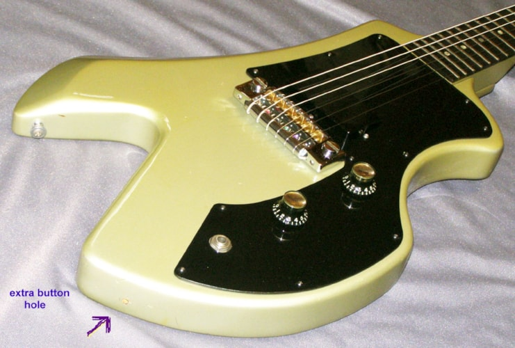 1983 Gibson Corvus I (1, one) Silver, Excellent, Original Hard, Call For Price!