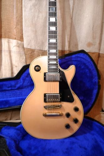 ~1983 Gibson  Les Paul Custom  Pearl White