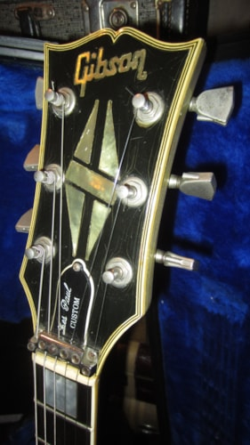 1983 Gibson Les Paul Custom Silver