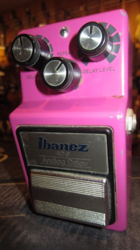 1983 Ibanez AD-9 Analog Delay  Pink, Excellent