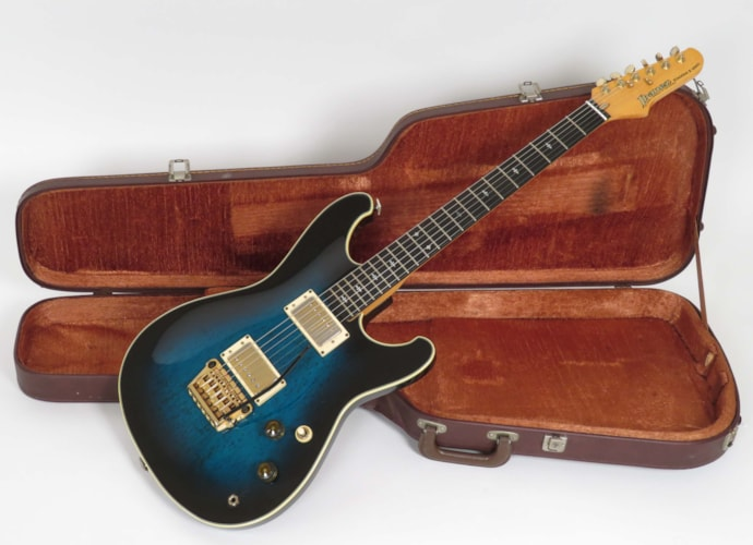 1983 Ibanez RS1010SL Steve Lukather Marine Blue, Very Good, Original Hard