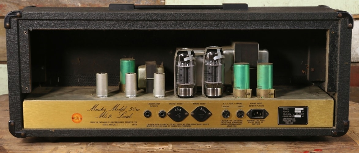 1983 Marshall 1983 JCM800 MKII Model 2204 50w Head Excellent $1,495.00
