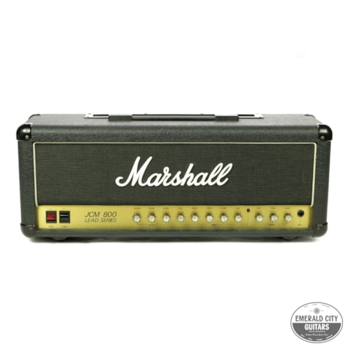 1983 Marshall JCM 800 Model 2210 100-Watt Black, Very Good, $1,495.00