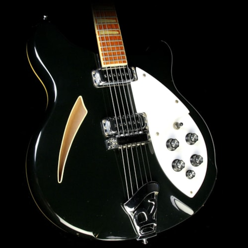 1983 Rickenbacker Used 1983 Rickenbacker 360 Electric Guitar Jetglo Excellent, $1,599.00