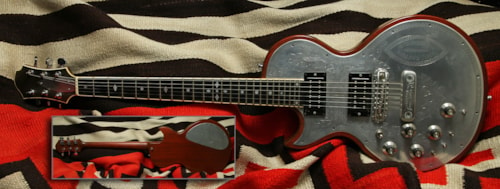 1983 Zemaitis Custom Deluxe Metal Top, Excellent, Hard