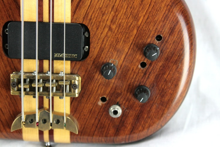 1984 Alembic Distillate Bass Guitar! Bubinga, Maple, Purpleheart, Active Electronics! series 1 2