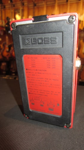 1984 BOSS PSM-5 Power Supply & Master Switch Red, Excellent, $49.00